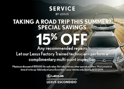 Taking a Road Trip this Summer?  Special Savings