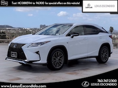 Pre-Owned 2017 LEXUS RX 350 F Sport SUV for Sale in Greater Escondido CA