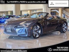 New 2021 LEXUS LC 500 Convertible Convertible for Sale in Greater Escondido CA