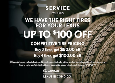 We have the right tire for your Lexus