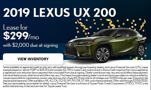 Lexus Lease Offers >> New Lexus Specials In Escondido Ca Lexus Escondido