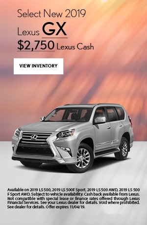 Select New 2019 Lexus GX