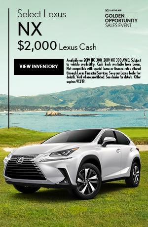 Select Lexus NX