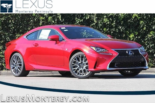 New 2018 LEXUS RC 300 Coupe For Sale/Lease Seaside, CA