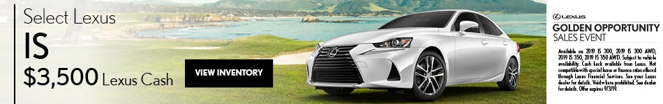 Select Lexus IS