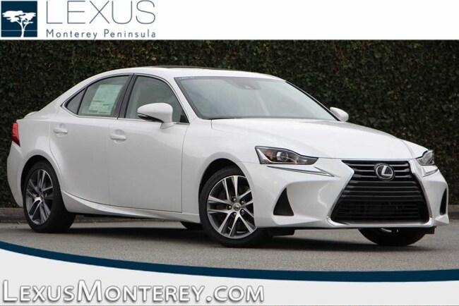New 2019 LEXUS IS 300 Sedan For Sale/Lease Seaside, CA