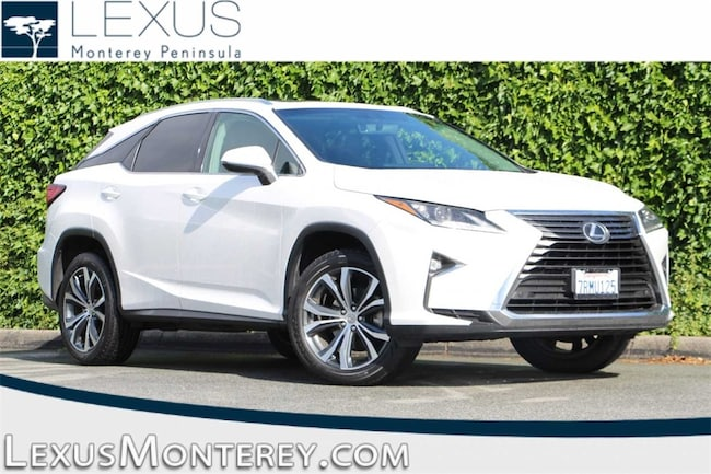 L/Certified Pre-Owned 2016 LEXUS RX 350 SUV For Sale Seaside, CA