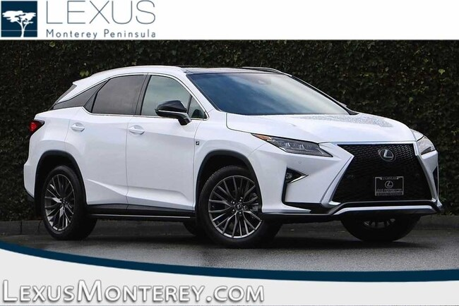 New 2019 LEXUS RX 350 SUV For Sale/Lease Seaside, CA