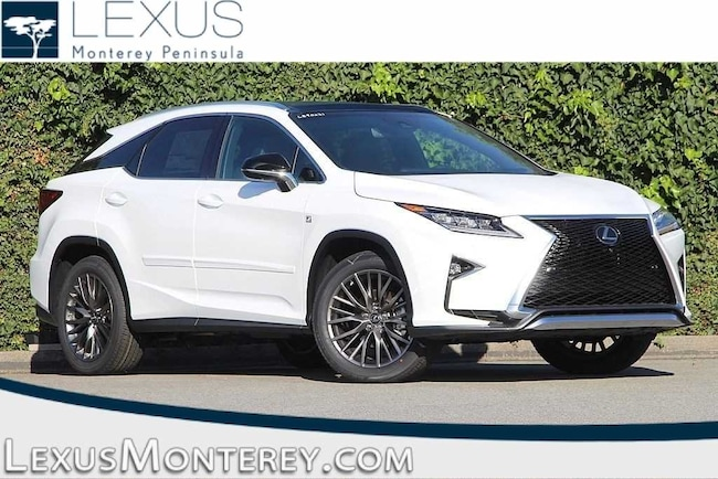 Lexus Suv Rx 350 >> New 2019 Lexus Rx 350 For Sale Lease Seaside Ca Vin
