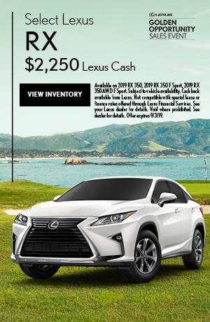 Select Lexus RX