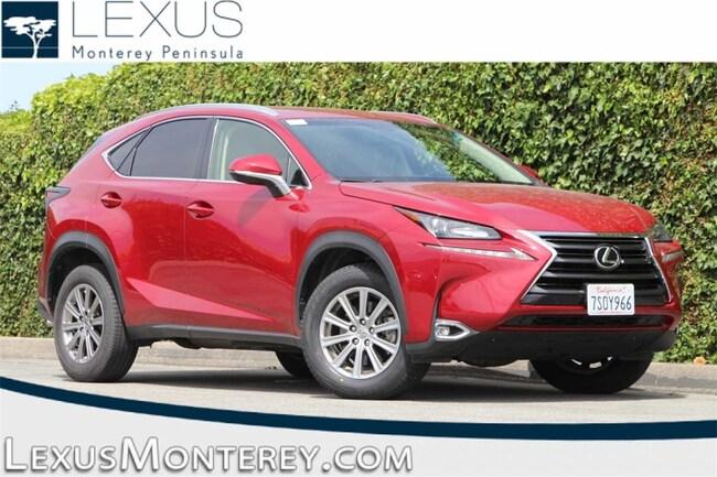L/Certified Pre-Owned 2016 LEXUS NX 200t SUV For Sale Seaside, CA
