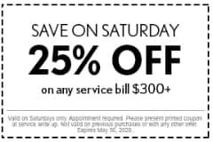 Save On Saturday