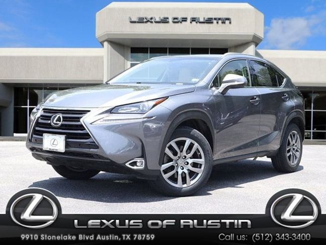 Lexus Nx 200t For Sale >> Used 2016 Lexus Nx 200t For Sale At Lexus Of Austin Vin