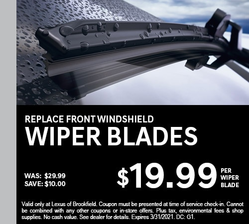 Replace Front Windshield Wiper Blades