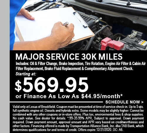 Major Service - 0920