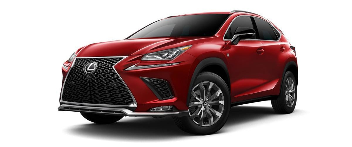 2019 Lexus NX 300 Luxury Crossover SUV Comparison