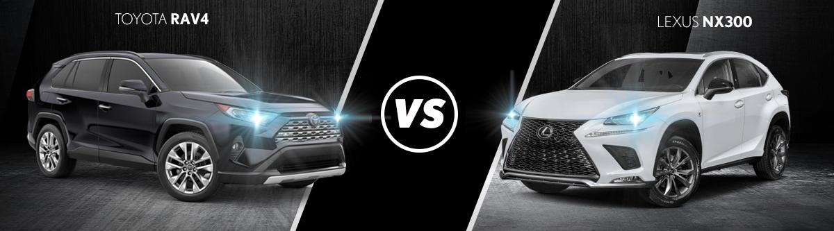 Toyota RAV4 vs Lexus NX 300 | Lexus of Milwaukee