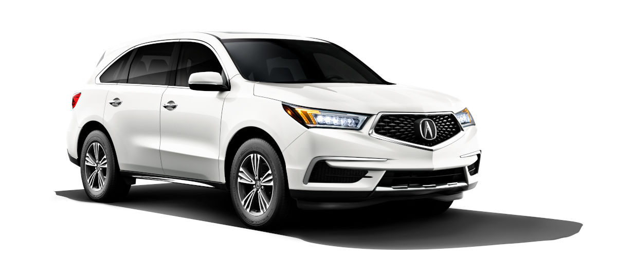 2019 Acura MDX Compared