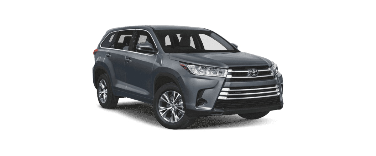 2019 Toyota Highlander Comparison