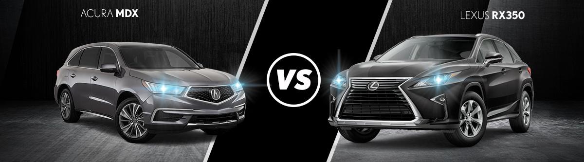 2019 Acura MDX VS 2019 Lexus RX 350L Comparison Review