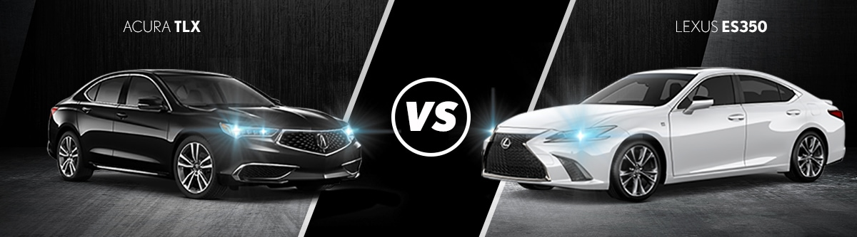 2019 Acura TLX VS Lexus ES 350 Comparison