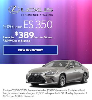 2020 - ES 350 - January