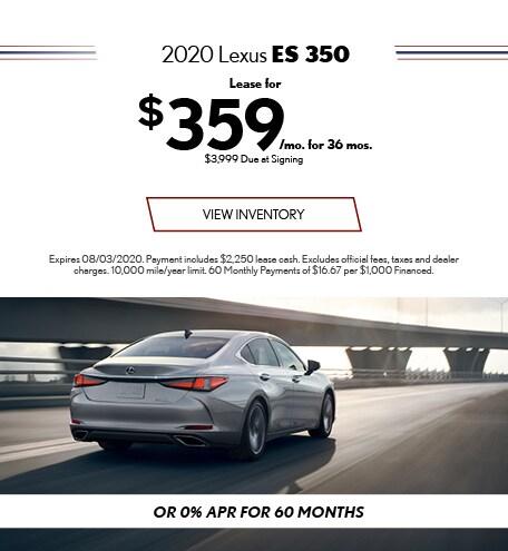 2020 - ES 350 - July