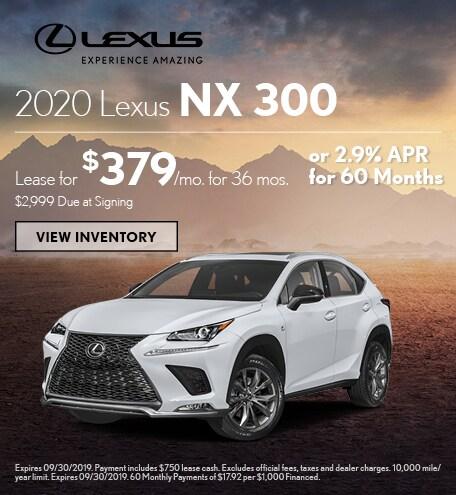 2020 - NX 300 - September