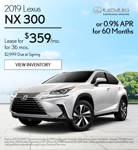 2019 - NX 300 - July