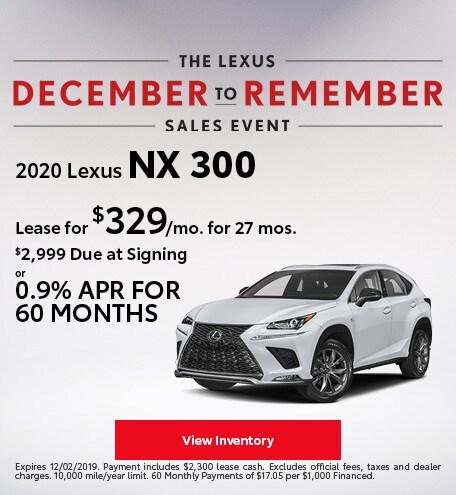 2020 - NX 300 - November