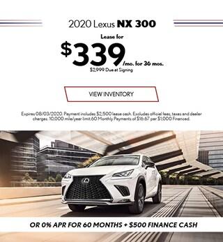 2020 - NX 300 - July