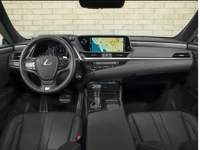 2020 Lexus ES Technology