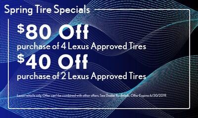 Spring Tire Specials