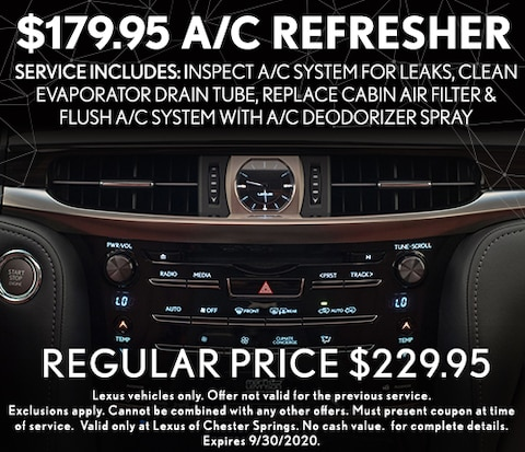 $179.95 A/C Refresher