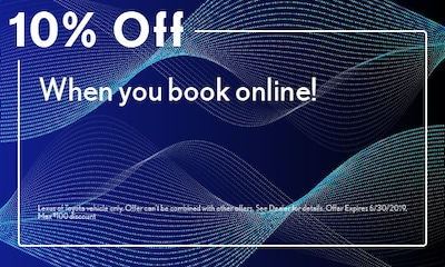 10% Off When you book online!