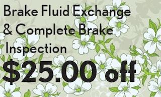 Brake Fluid Exchange & Complete Brake Inspection