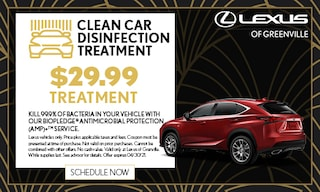 Clean Car Disinfection Treatment