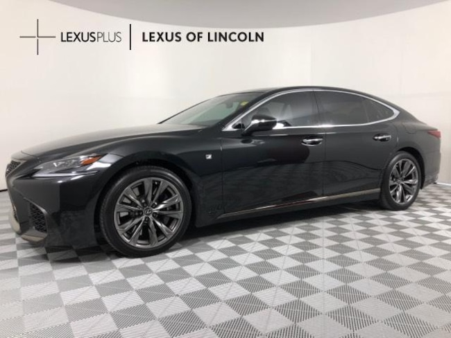 New 2018 Lexus Ls 500 F Sport For Sale At Lexus Of Lincoln Vin