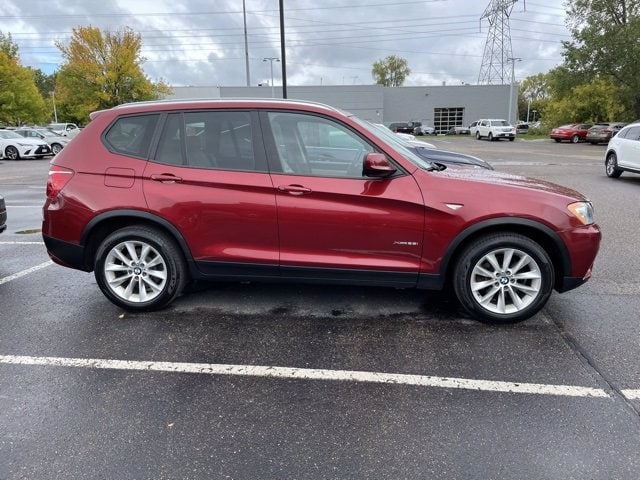 Used 2014 BMW X3 xDrive28i with VIN 5UXWX9C55E0D23972 for sale in Maplewood, Minnesota