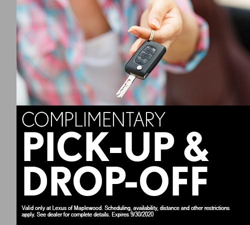 Complimentary Pick-Up & Drop-Off