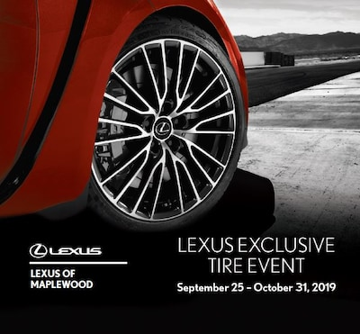 Lexus Exclusive Tire Event