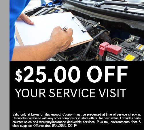 $25.00 Off Your Service Visit