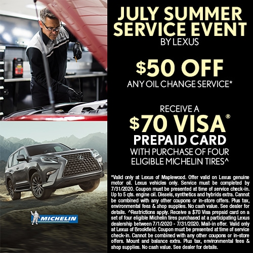 Lexus July Summer Service Event