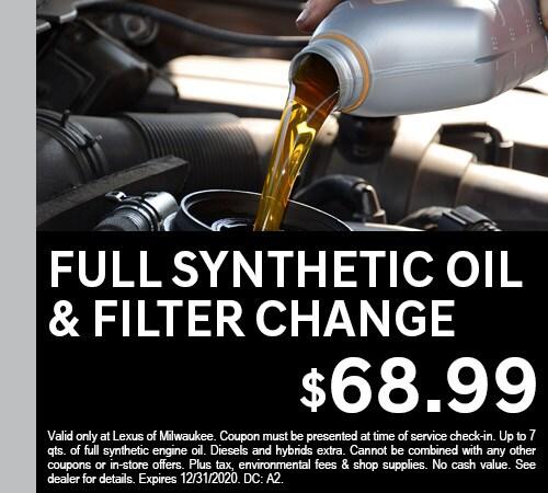 Full Synthetic Oil - 0920