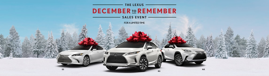 December to Remember Sales Event At Lexus of Milwaukee