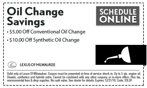 Charming Oil Change Coupon Milwaukee, WI