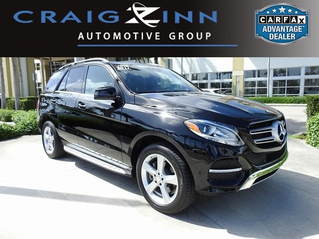 Good Used 2017 Mercedes Benz GLE 350 GLE 350 SUV In Pembroke Pines