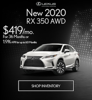 New 2020 RX 350 AWD