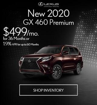 New 2020 GX 460 Premium