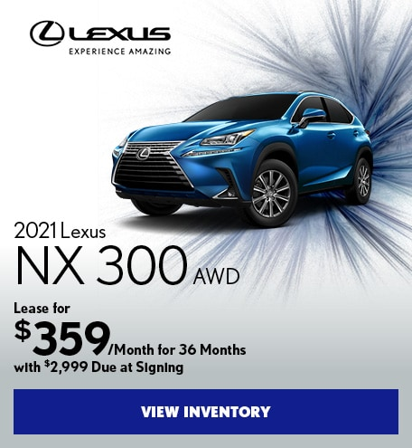 2021 Lexus NX 300 AWD